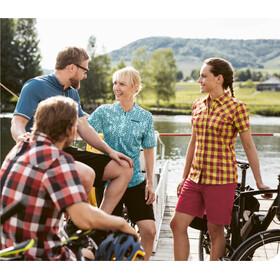 Gonso Wolga Bike Bluse 1/2 Arm Damen granita check